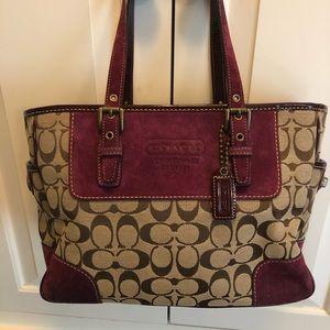 Coach bag use 3x